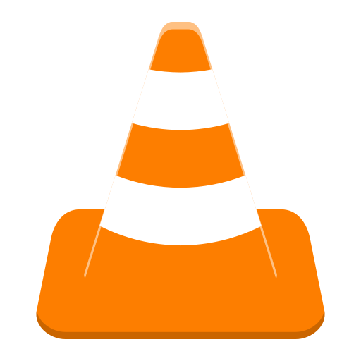 Vlc, Cone Icon Free Of Super Flat Remix Apps