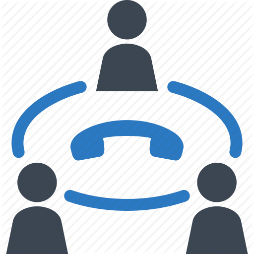 Business, Communication, Conference Call, Teamwork Icon