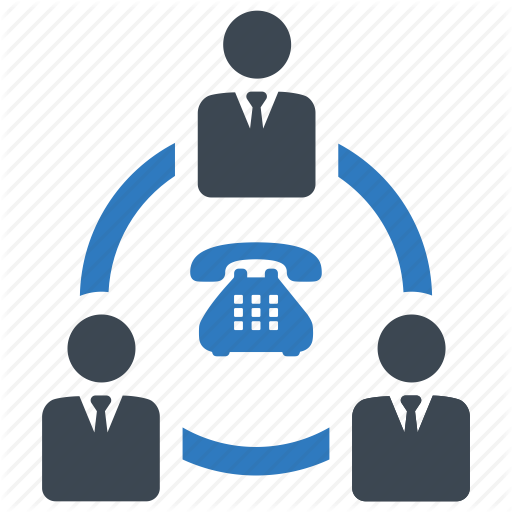 Communication, Conference Call, Meeting Icon
