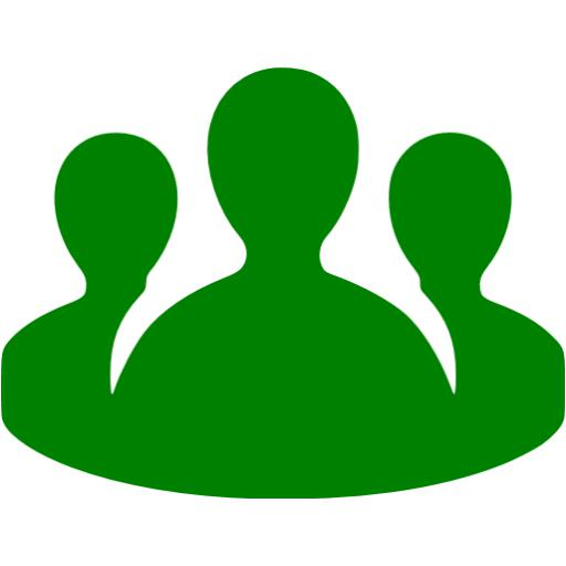 Green Conference Call Icon