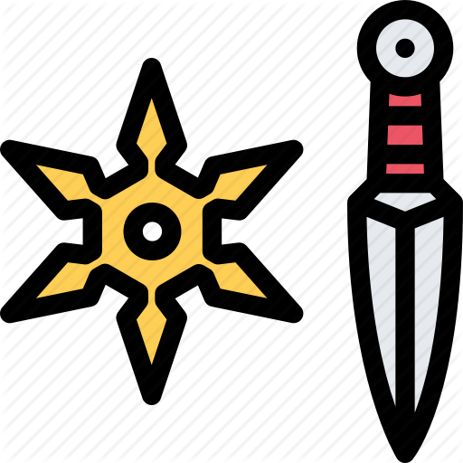 Conflict, Military, Ninja, Soldier, War, Weapon Icon