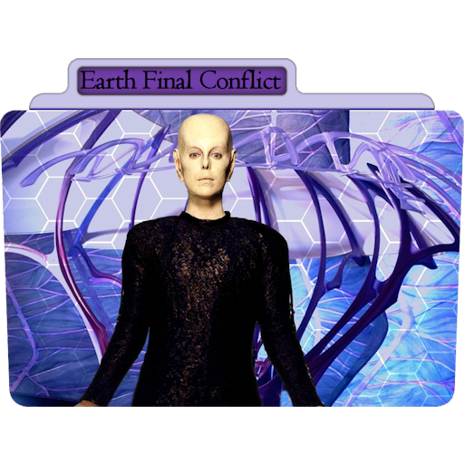 Earth Final Conflict Icon Tv Movie Folder Iconset Aaron Sinuhe