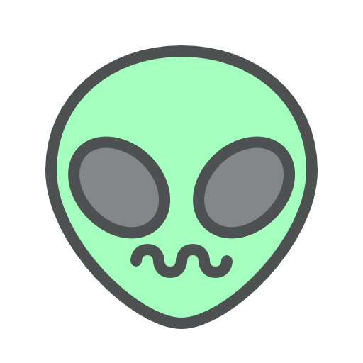 Alien, Confused Icon Free Of Space Icons