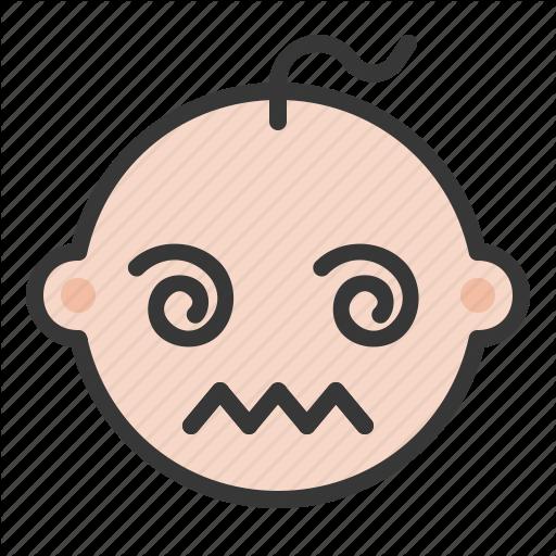 Baby, Confused, Emoji, Emoticon, Expression Icon