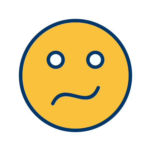 Confused, Emoticon, Face, Smiley Icon Free Of Emoticons Filled Two