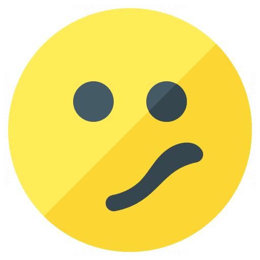 Iconexperience G Collection Emoticon Confused Icon