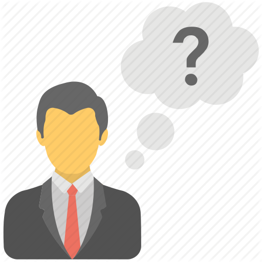 Business Concerns, Business Questioning, Confused Person