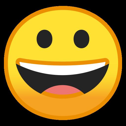 Grinning Face Icon Noto Emoji Smileys Iconset Google