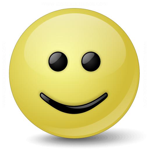 Iconexperience V Collection Emoticon Smile Icon