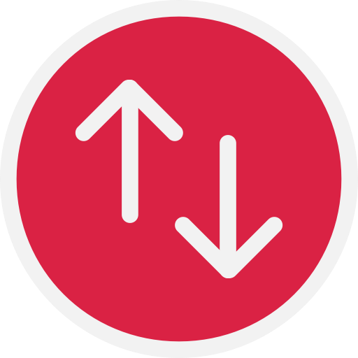 Upload, Download, Connection Icon