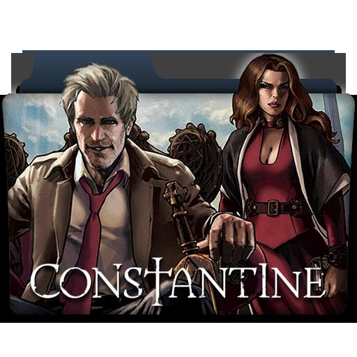 Constantine Tv Series Folder Icon
