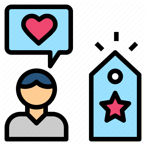 Brand, Engagement, Impression, Like, Loyalty Icon