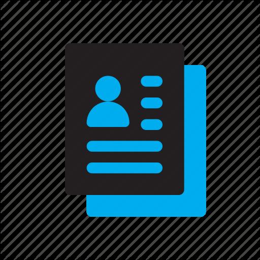 Account, Card, Clipboarad, Contact, Person, Profile, User Icon