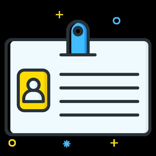 Id Card Icon Job Seeker Iconset Inipagi Studio