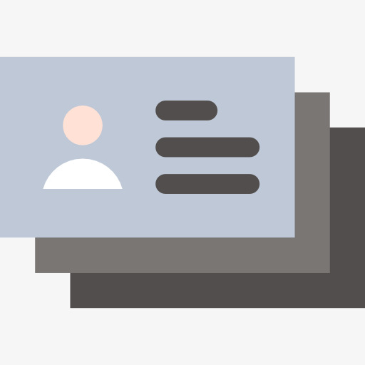 Business Card Clip Art Cartoonname Card Name Card Work Permit