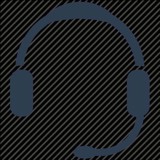 Call Center, Customer Service, Customer Support, Headphones Icon