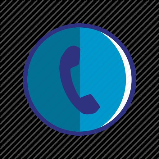 Blue, Contact, Phone, Smartphone, Talk, Telephone Icon