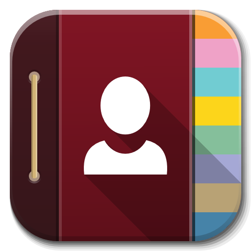Apps Contacts Icon Flatwoken Iconset Alecive