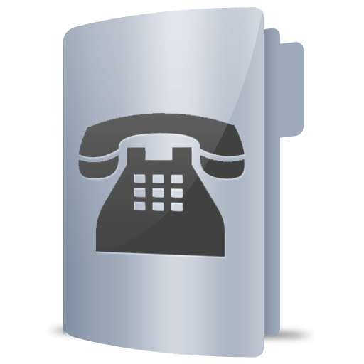 Phone, Contacts Icon