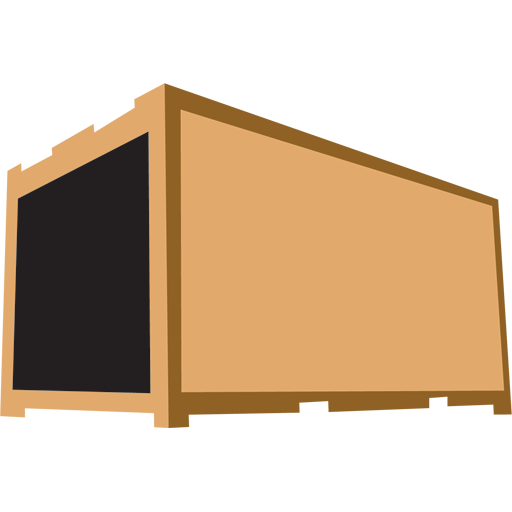 Container Brown Icon Movers Iconset Mymovingreviews