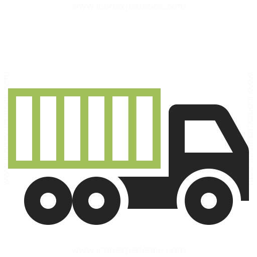 Truck Container Icon Iconexperience