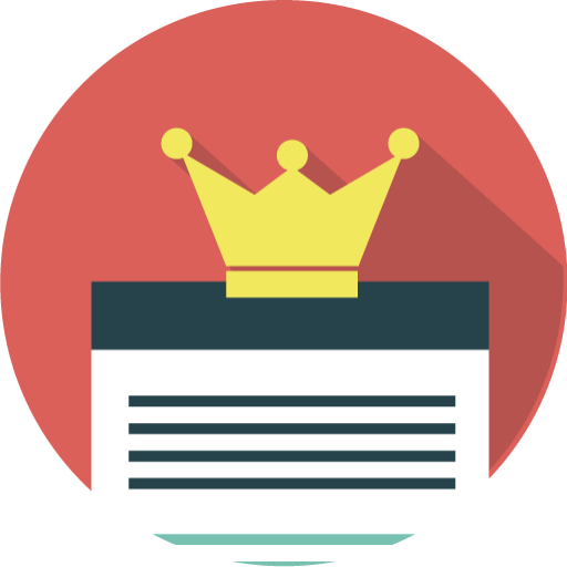 Content Is King, Seo Icon Free Of Seo Marketing Icons