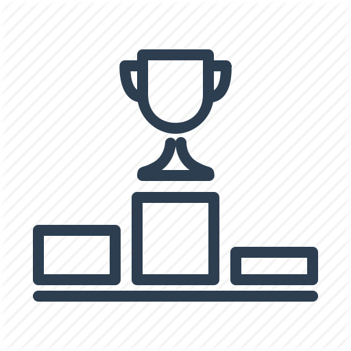 Award, Contest, Cup, Ledder, Podium, Trophy, Winner Icon