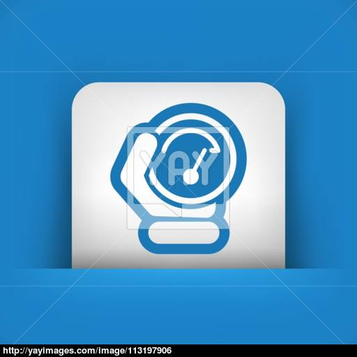 Speed Control Icon Vector