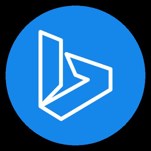 Open Control Panel Windows Bing Logo Image