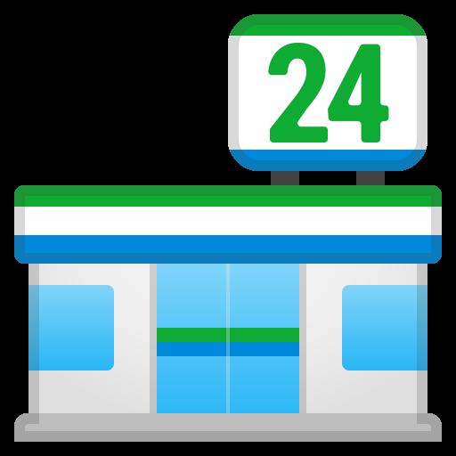 Convenience Store Icon Noto Emoji Travel Places Iconset Google