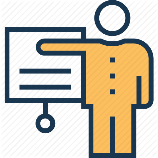 Communication, Convention, Lecture, Presentation, Public Speaker Icon
