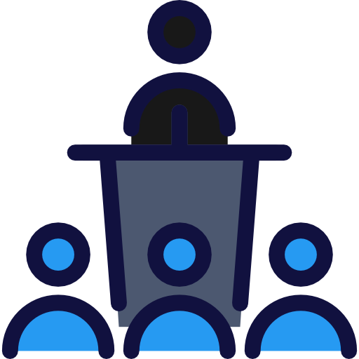 People Conference Flat Icon