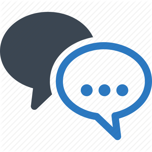 Chat, Conversation, Speech Bubbles Icon