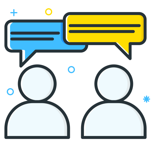 Conversation Icon Job Seeker Iconset Inipagi Studio