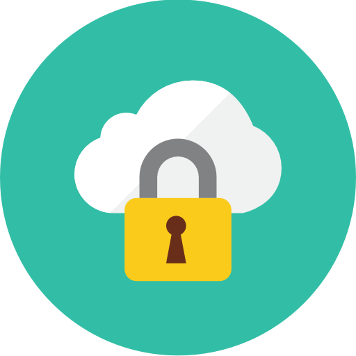 Locked Cloud Icon Kameleon Iconset Webalys
