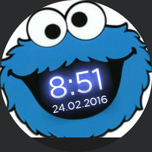 Cookie Monster Simple For Moto