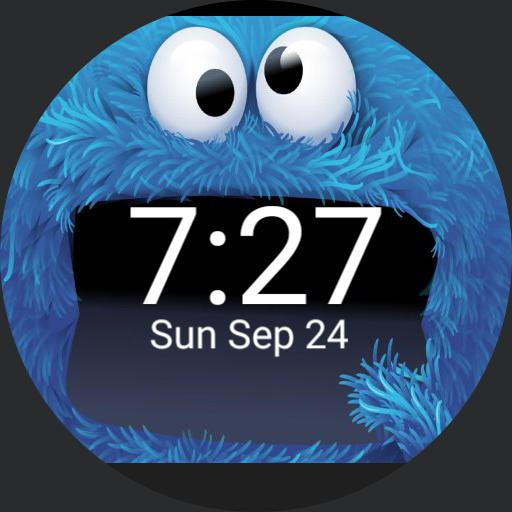 Cookie Monster For Fossil Q