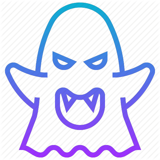 Death, Devil, Ghost, Halloween, Monster Icon