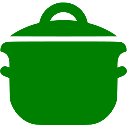 Green Cooking Pot Icon