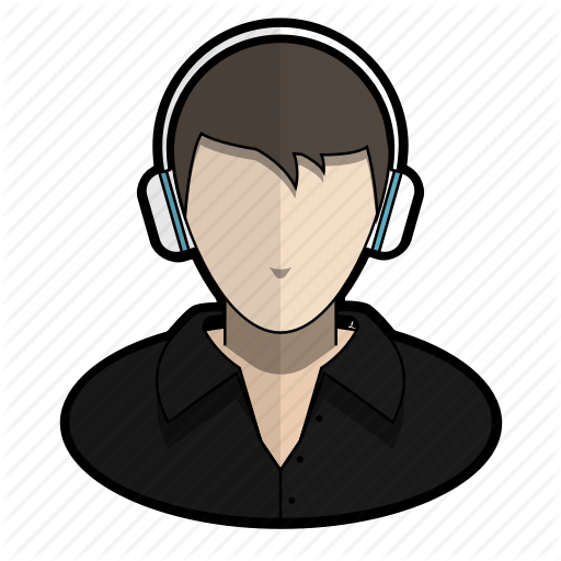 Avatar, Cool, Headphones, Music, Profile, Shirt, User Icon