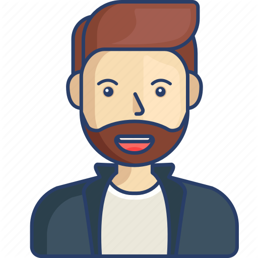 Avatar, Cool, Hipster, Man, Profile Icon