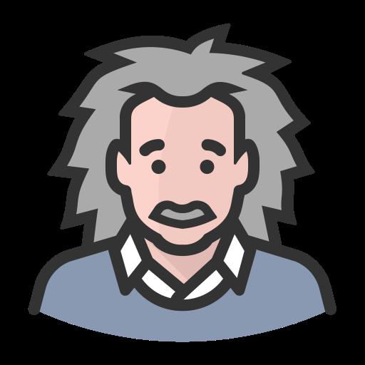 Avatar Albert Einstein Hair, Albert, Avatar Icon Png And Vector