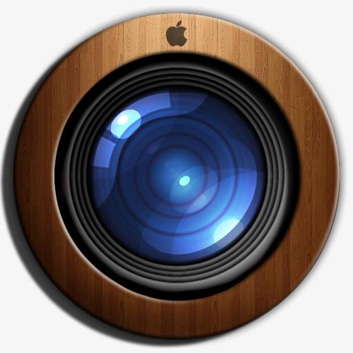 Camera Icon, Camera Clipart, Camera, Wood Texture Png Image