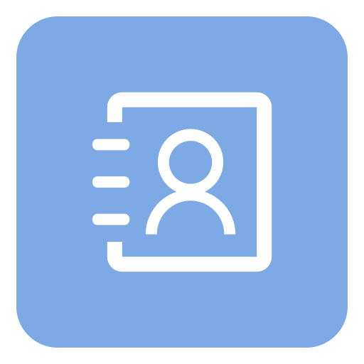 Address Book, Biodata, Contact Book Icon Png And Vector For Free