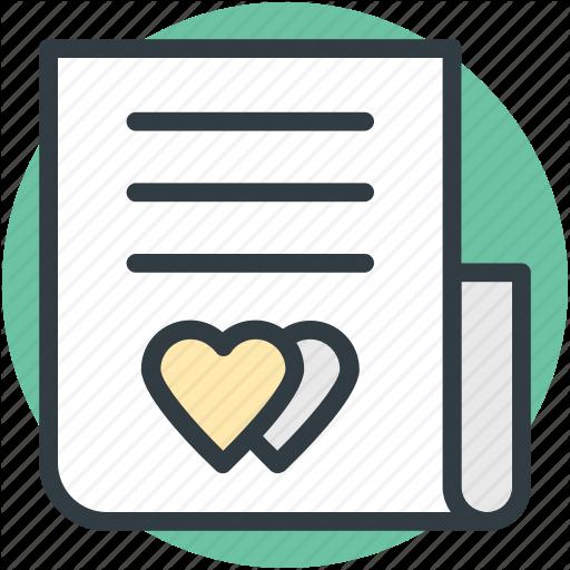 Correspondence, Heart Sign, Love Inspiration, Love Letter