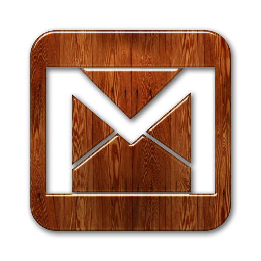 Gmail Logo Webtreatsetc Icons, Free Icons In Wood Social