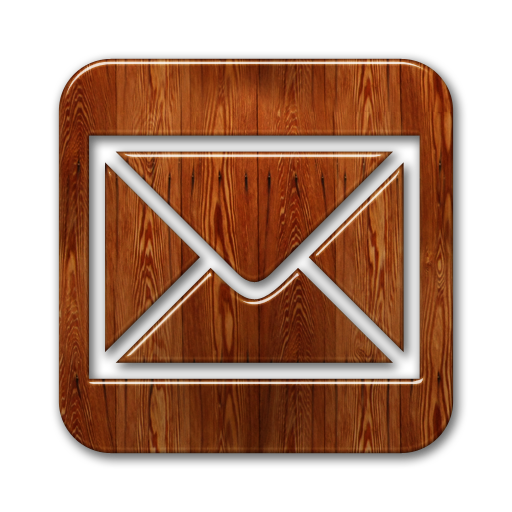 Wooden Social Media Icons Images