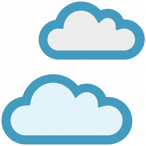 Clouds, Cool, Nature, Summer, Weather Icon