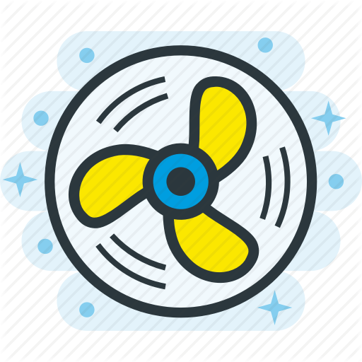 Cool, Cooling, Fan, Wind Icon
