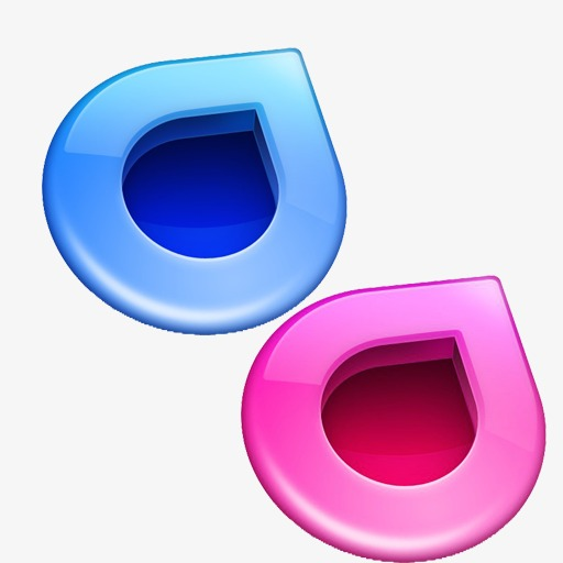 Cool Icon, Cool, Blue, Pink Png And For Free Download